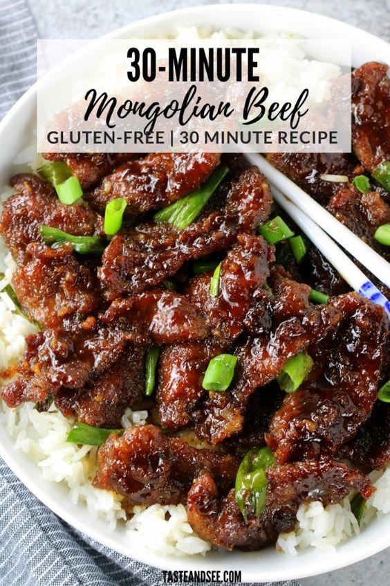 30-Minute Mongolian Beef
