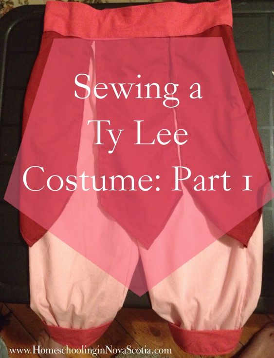 Sewing a Ty Lee Costume: Part 1