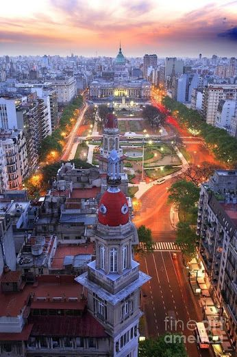 La ciudad de #BuenosAires, #Argentina