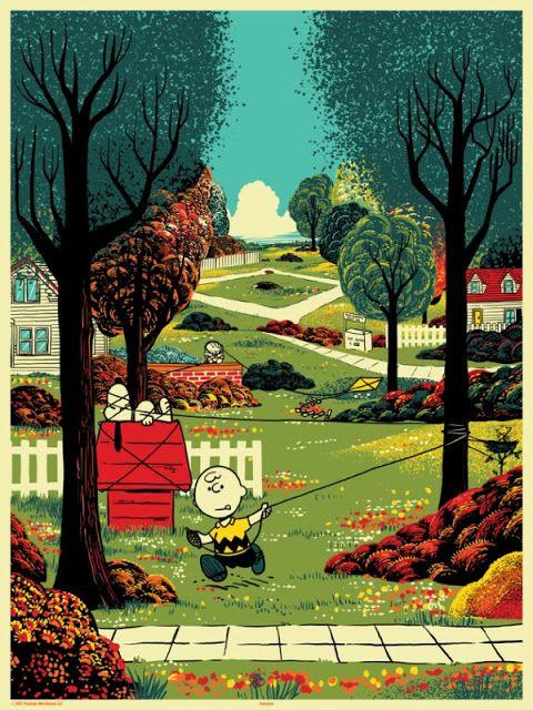 'Peanuts Seasons: Summer' by Chris Thornley (Raid71)