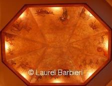 Ceiling and Wall MuralsInterior Design by Laurel Barbieri 2