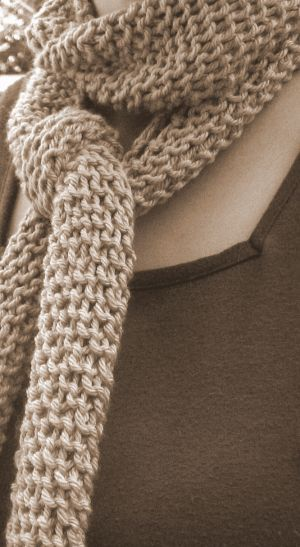 Gillian, the one-skein scarf pattern