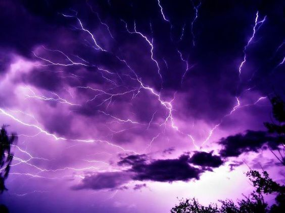 We can learn things in the calm...but the best lessons are learned from the storms.
