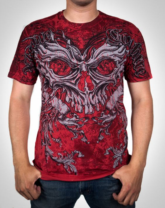 Extreme Couture Danger MMA T Shirt.