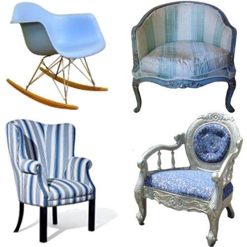 Sillas para sala de estar 4 sillones sillas for Sillas antiguas tapizadas modernas