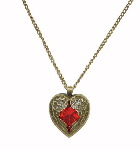 Wing Heart Necklace