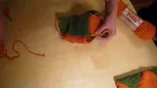 Folding the Norwegian House Slippers, via YouTube.