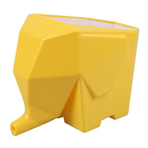 Vakind® Égouttoir Eléphant Créative à Coutellerie Baguettes Couverts Brosse Support et Rangement Drainer L'eau (jaune) Vakind http://www.amazon.fr/dp/B011K78WGA/ref=cm_sw_r_pi_dp_3MQ1vb01EJTNQ