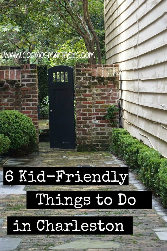 6 kid friendly things to do in charleston kid things to for Things to do in charleston nc