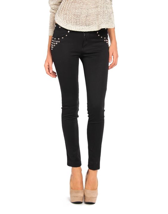 Pocket Studded Legging Pants   2020AVE >> Fun pants, not too much dazzle, just enough!