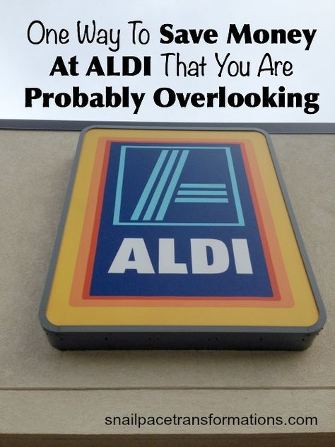 You know that simply shopping at ALDI can save you money but do you know this small extra step that can save you even more on your ALDI shopping trips?