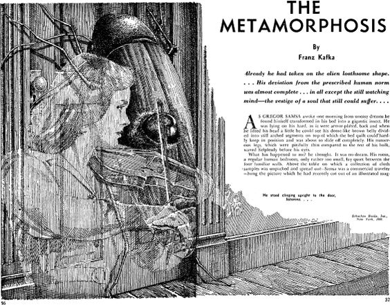The theme of metamorphosis franz kafka