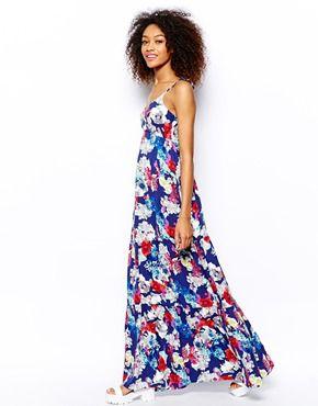 Vero Moda Floral Maxi Dress