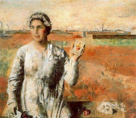 La novia. 1959. Obra de Antonio López García