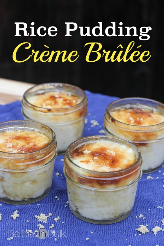 pudding cr creme brulee rice pudding and more puddings creme brulee ...