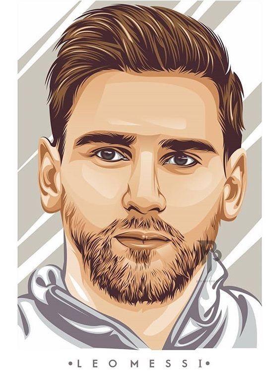 Lionel Messi Em 2020 Desenho Futebol Jogadores De Futebol Futebol