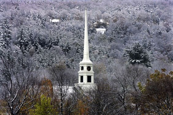 Church in snow - Google Search