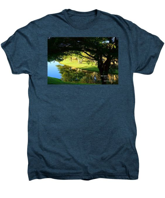 Men's Premium T-Shirt - Reflections In The Morning