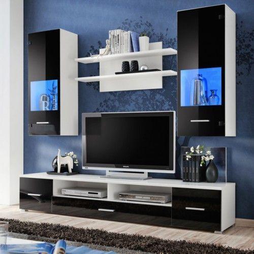 20 Fabulous Tv Stand Decor Ideas For Living Room En 2020 Meuble Tv Meuble