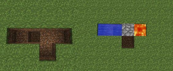 Minecraft cobblestone generator! So helpful!