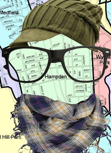 hipster Hampden