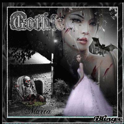 Gotico mujer murcielago