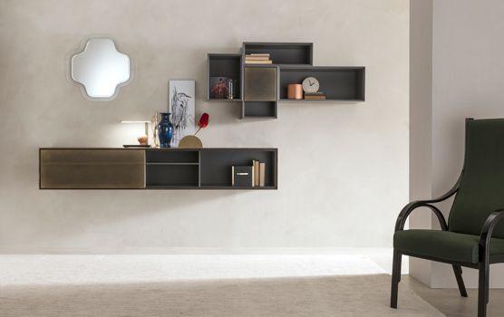 Living | Ateneo | Capo d\'Opera | Rack design, Storage rack ...