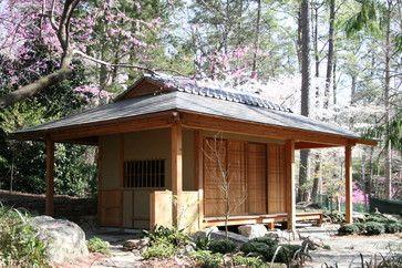 Japanese Tea Pavillion - asian - exterior - raleigh - 2SL Design Build Inc