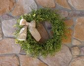 Light Pepper Grass Wreath, Summer Wreath, Grapevine Wreath, Spring Wreath, Easter Wreath, Front Door Wreath