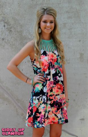 It's Gonna Be Love Floral Dress