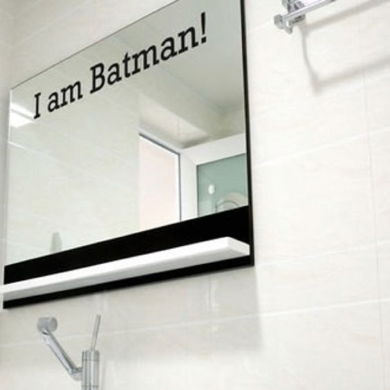 Batman Bathroom Sign: Pinterest • The World's Catalog Of Ideas