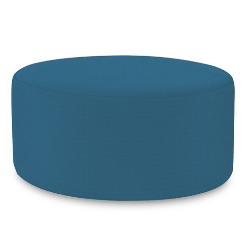 Universal Seascape Turquoise 36 Inch Round Cover Turquoise