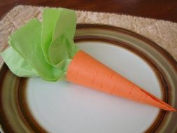 napkin holder for kids table Easter