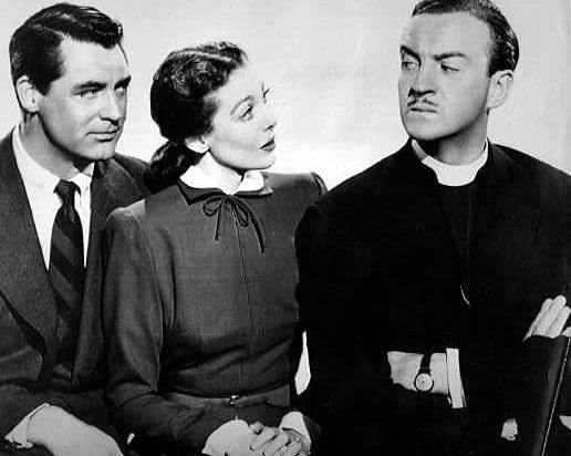David Niven and Cary Grant in The Bishop's Wife | The Bishop's ...