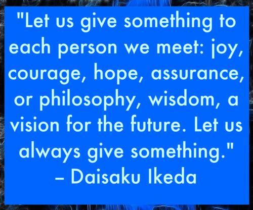 ɛïɜ Daisaku Ikeda ɛïɜ