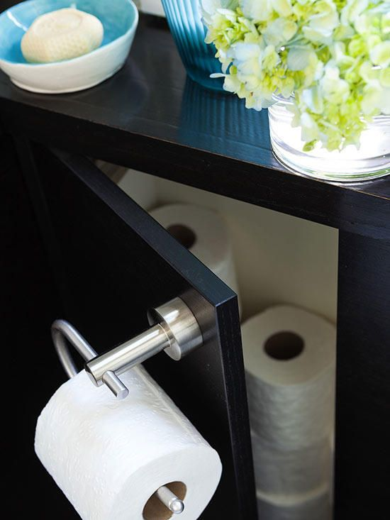 Small Guest Bathroom Makeover Guest Bathroom Small Small Bathroom Storage Toilet Paper Storage