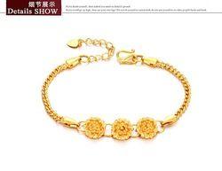 Priced Accessories K Gold Jewelry Exquisite Bracelet Flower Lady Bracelet KS