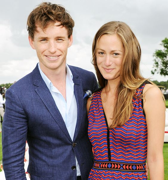 Eddie Redmaybe & Hannah Bagshawe are married. Cute dress too!