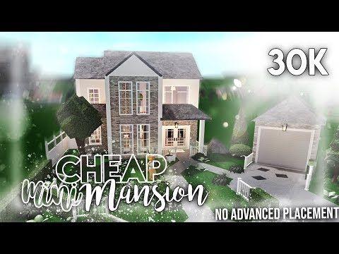 Roblox Bloxburg 30k Cheap Mini Mansion No Advanced Placement