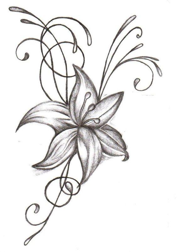 flower tattoo by joycesun 717x1024 customize your flower tattoo