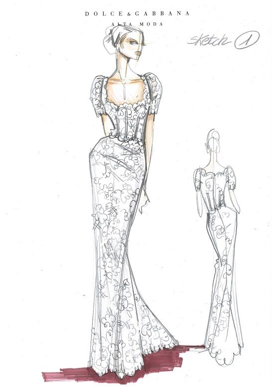 dolce amp gabbana sketches and once upon a time on pinterest