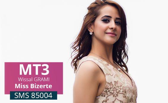 Wissal Grami, âgée de 23 ans.Actuellement hôtesse de l'air. Votez…