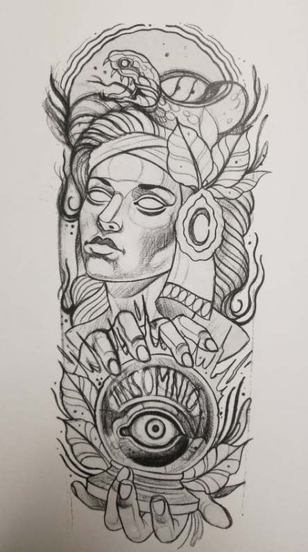 21 Trendy Ideas For Drawing Tattoo Neo Trad Tattoo Drawings Neo Tattoo Traditional Tattoo Design