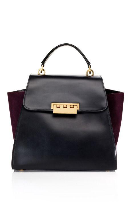 ✕ Z Spoke by Zac Posen via Moda Operandi: a classic handbag with lovely side color details