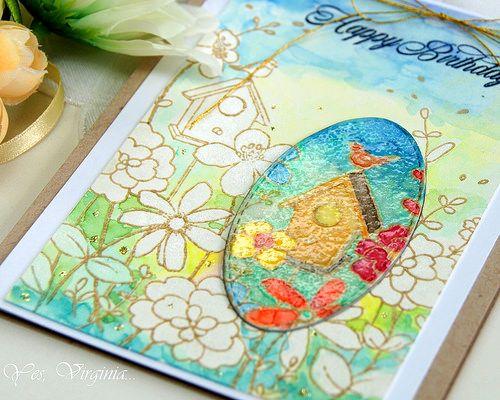Yes, Virginia...: Spotlighting with Watercolors!