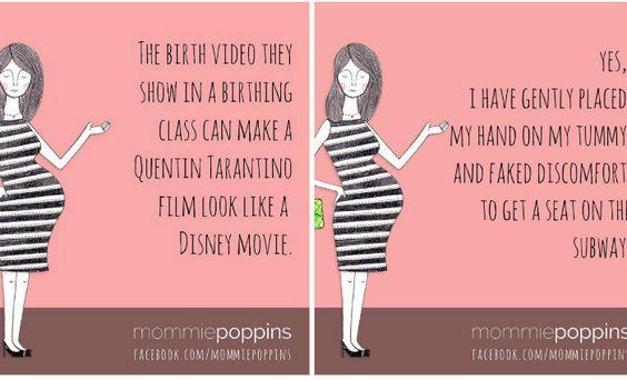 10 grappige citaten over zwanger zijn