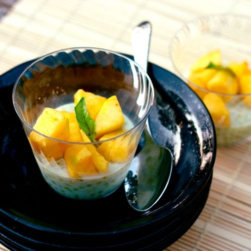 ... Kitchen: Thai Coconut Tapioca Pudding with Cayenne-Spiced Mango