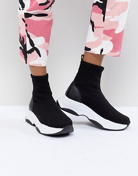 ASOS DESIGN Drill Sock Trainers | Socks