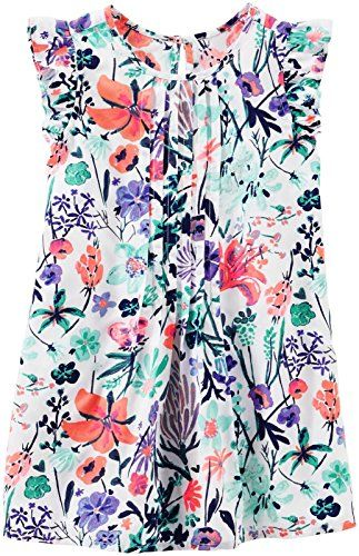 Limited Too Baby Girls Printed Sundress with Shurg Dress