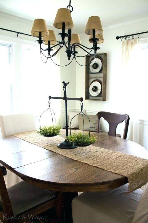 Farmhouse Style Centerpiece For Dining Table Farmhouse Table